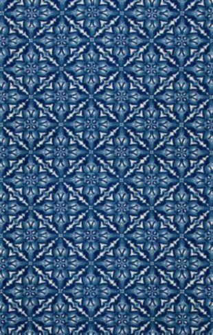 Mosaic Indigo