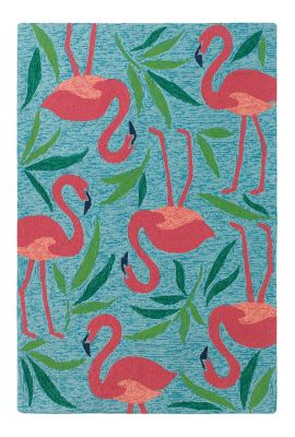 Fancy Flamingo Rug image 1