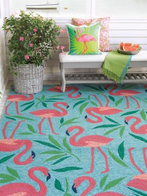 Fancy Flamingo Rug image 3