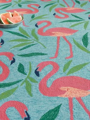 Fancy Flamingo Rug image 4