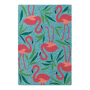Fancy Flamingo Rug