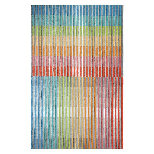 Chromatic Plaid Rug