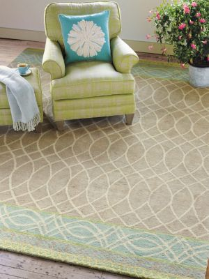 Lattice Swirl Rug image 3