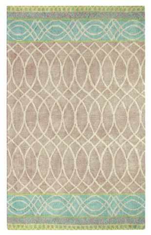 Lattice Swirl Rug