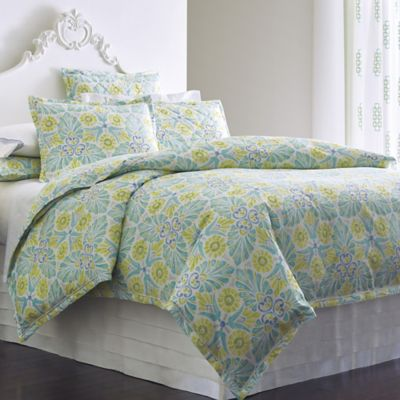 Painted Medallions Duvet Cover & Shams image 1
