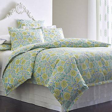 Painted Medallions Duvet Cover & Shams