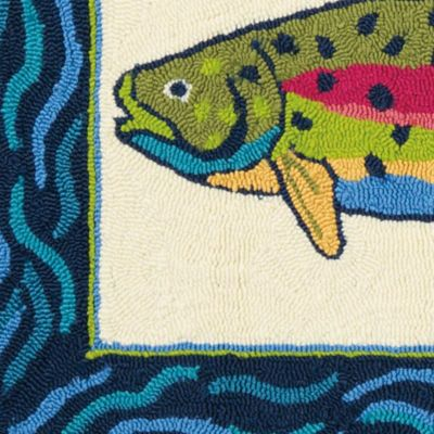 Rainbow Trout Rug image 3