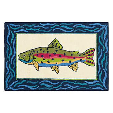 Rainbow Trout Rug