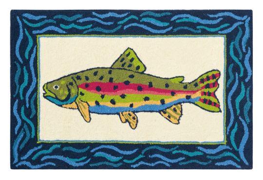 Rainbow Trout Rug