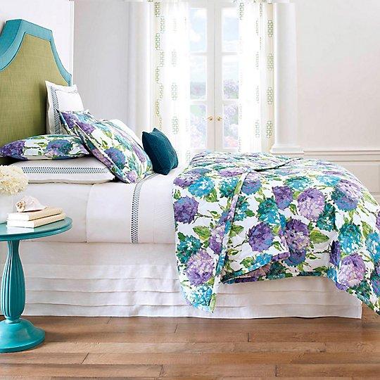 Hydrangea Quilt & Shams - Quilts, Coverlets & Shams - Bed & Bath ... : company c quilts - Adamdwight.com