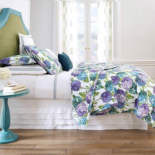 Hydrangea Quilt & Shams