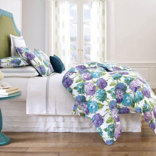 Hydrangea Duvet Cover & Shams