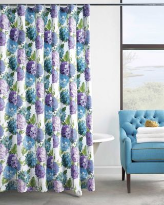 Hydrangea Shower Curtain image 2