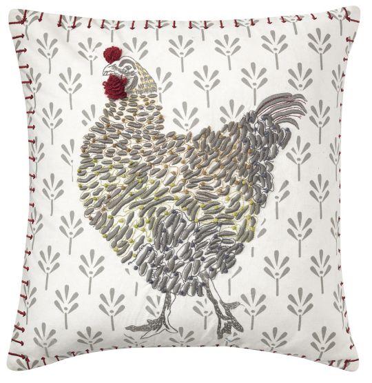Coq-A-Doodle Pillow