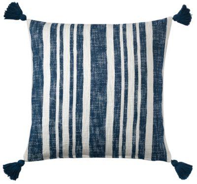 Denim Stripe Pillow image 1