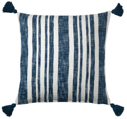 Denim Stripe Pillow