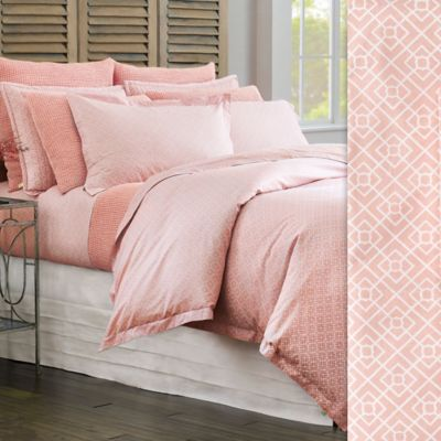 Diamond Lattice Duvet Cover & Shams image 1
