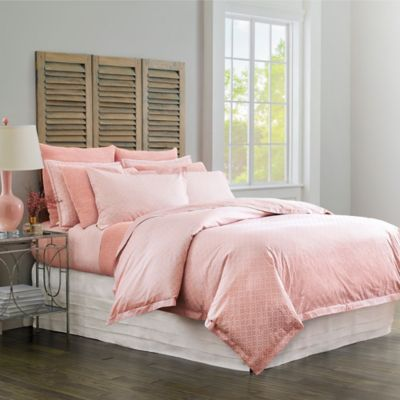 Diamond Lattice Duvet Cover & Shams image 3