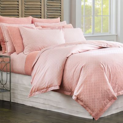 Diamond Lattice Duvet Cover & Shams image 4