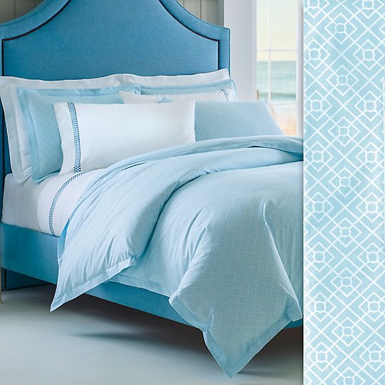 Diamond Lattice Duvet Cover & Shams