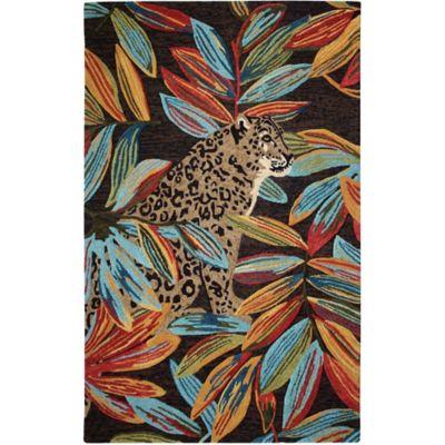 Max Leopard Rug image 1