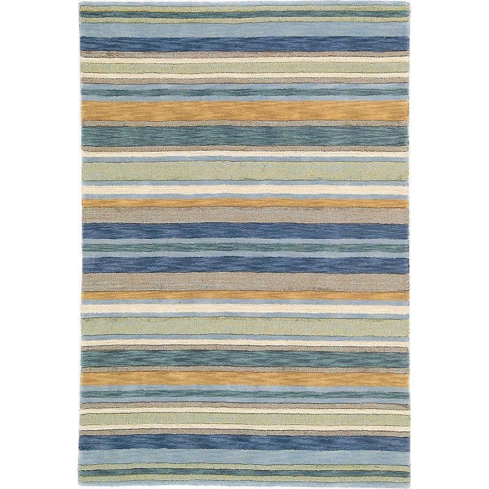 striped rugs  handmade area rugs  company c - sheffield stripe rug