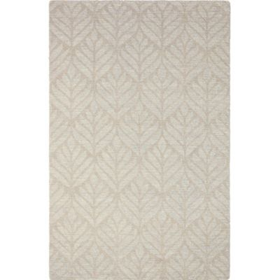 Textured Leaf Rug image 1