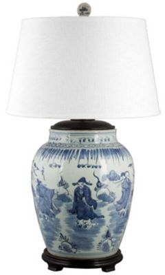 Song Porcelain Table Lamp image 1