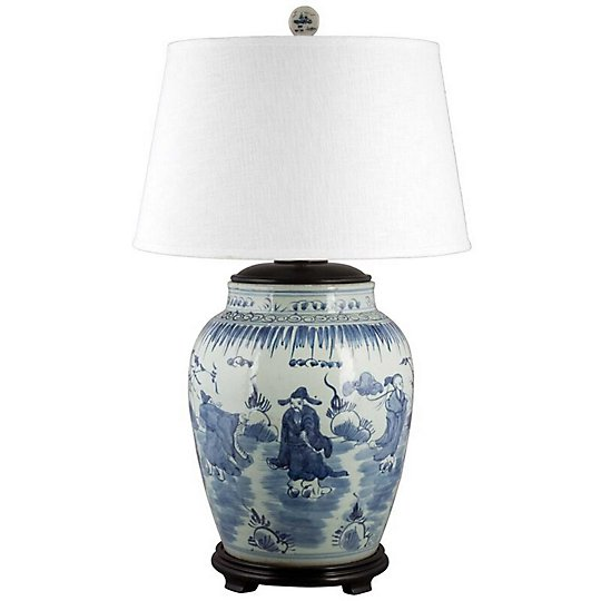 Song Porcelain Table Lamp