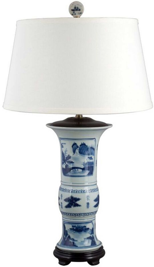Landscape Porcelain Lamp
