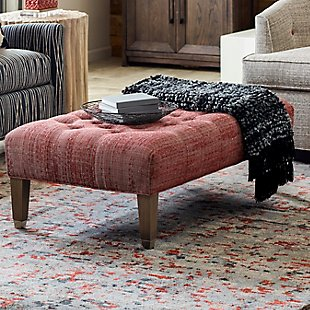 Westport Large Tufted Ottoman