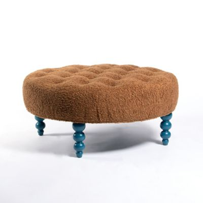 Admirable New Rockport Round Tufted Ottoman Andrewgaddart Wooden Chair Designs For Living Room Andrewgaddartcom