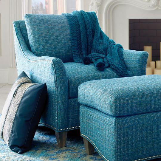 Whistler Chair - Drago Turquoise
