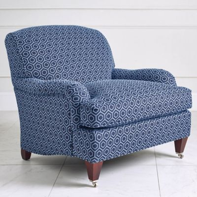 Saybrook chair - Pie Town Navy image 1