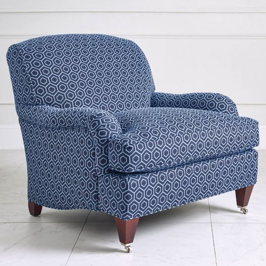Saybrook chair - Pie Town Navy