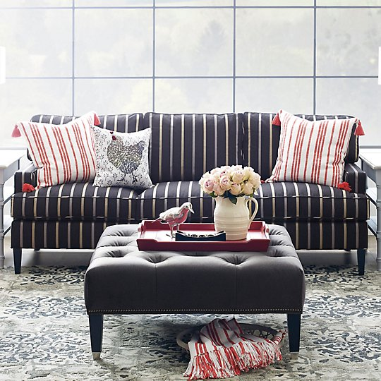 Exeter Sofa - Rhame Black