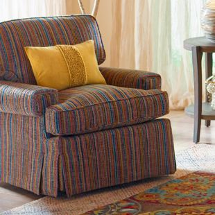 Exeter Swivel Chair - Froyo Fabric